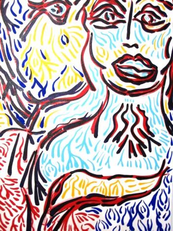 Bill Bissett artist